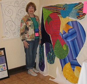 Alice B. at Quilting Adventures 2010