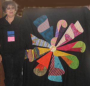 Barbara D. at Quilting Adventures 2010