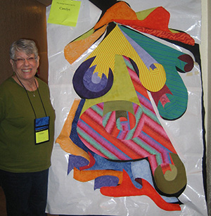 Carolyn H. at Quilting Adventures 2010