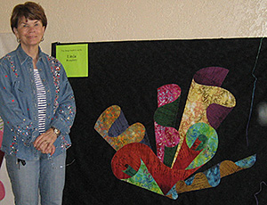 Linda H. at Quilting Adventures 2010