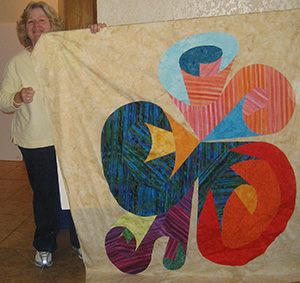 Lynn M. at Quilting Adventures 2010
