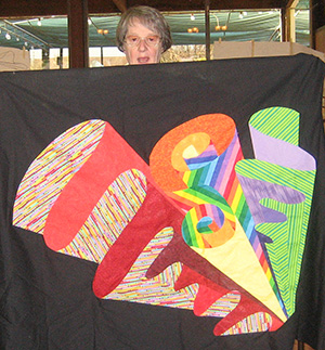 Peggy S. at Quilting Adventures 2010