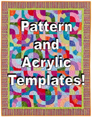 Perpetual Pathways pattern and acrylic templates